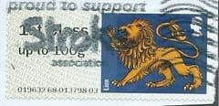 2015 1ST  'HERALDIC BEASTS - LION' (TYPE IIa) FINE USED