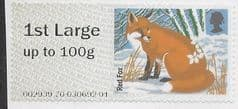 2015 1ST LARGE 'FUR AND FEATHERS -  RED FOX' FINE USED