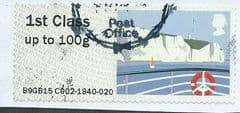 2015 1ST  'SEA TRAVEL - WHITE CLIFFS OF DOVER (TYPE IIIa)    FINE USED