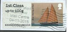 2015 1ST 'WORKING SAIL - BRIAR' (TYPE IIIa)(TALLENTS HOUSE)   FINE USED