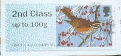 2015 2ND  'FUR AND FEATHERS - REDWING'  FINE USED
