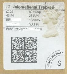 2015 I.T (R 6) TYPE 4a ( 2D BARCODED) FINE USED