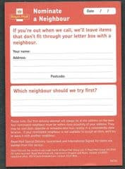 2015 'NOMINATE A NEIGHBOUR'  LEAFLET