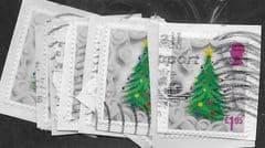2016 10x £1.05 (S/A) 'CHRISTMAS' FINE USED