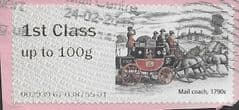 2016 1ST 'ROYAL MAIL - POSTAL HERITAGE' ( MA16) (TYPE IIa)   FINE USED