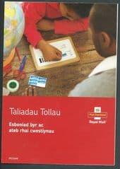 2016 'TALIADAU TOLLAU' (CUSTOMS CHARGES)BI LINGUAL LEAFLET