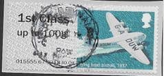 2017 1ST CLASS 'HERITAGE MAIL BY AIR '  FINE USED