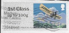 2017 1ST CLASS 'HERITAGE MAIL BY  AIR'  FINE USED