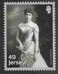 2017 49P 'LILLIE LANGTRY ' FINE USED