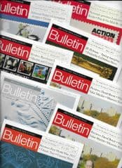 2017   8x 'BRITISH PHILATELIC BULLETIN' MAGAZINES. (2)