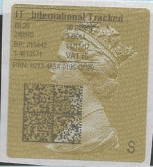 2017 IT: INTERNATIONAL TRACKED (R5) TYPE 4 PRINTING ON GOLD TYPE 2a LABEL