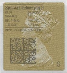 2017 SD9 (Y 6) TYPE 4 PRINTING ON GOLD TYPE 2a LABEL