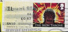 2018 1L (B4)(POSTCODED) 'GAME OF THRONES' FINE USED