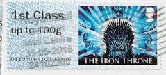 2018 1ST CLASS ON 2ND CLASS 'GAME OF THRONES' ERROR FINE USED