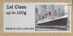 2018 1ST (S/A) 'RMS QUEEN MARY' (EX TALLENTS HOUSE) FINE USED
