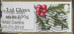 2018 1ST (UP TO 100g) ' WINTER GREENERY- HOLLY' (R18YAL) FINE USED