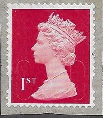 2019 1ST (S/A) 'BRIGHT SCARLET' (MTIL (M19L)  FORGERY FINE USED