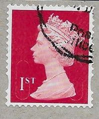 2019 1ST (S/A) 'BRIGHT SCARLET' (MTIL (M19L) FORGERY.