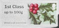 2019 1ST (UP TO 100g) ' WINTER GREENERY- HOLLY' (R19YAL) FINE USED