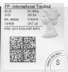 2019 FP: INTERNATIONAL TRACKED (O 6)TYPE 4b LABEL