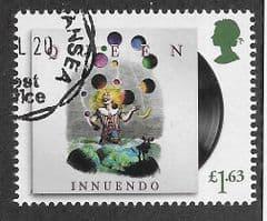 2020  £1.63 'QUEEN- INNUENDO'  FINE USED