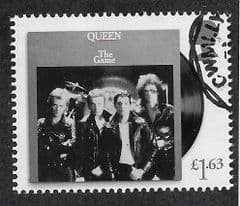 2020  £1.63 'QUEEN- THE GAME'  FINE USED