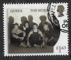 2020  £1.63 'QUEEN- THE WORKS'  FINE USED