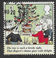 2020 £1.70 'RUPERT BEAR - THE TREE IS SUCH A ...' FINE USED