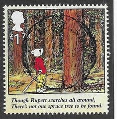 2020 £1.70 'RUPERT THE BEAR -'THOUGH RUPERT SEARCHES ALL AROUND..' FINE USED