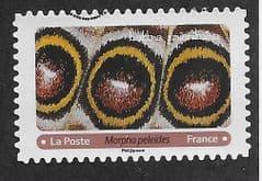 2020 (116c)(S/A) 'BUTTERFLIES- BLUE MORPHO' FINE USED