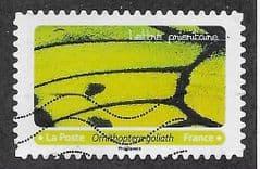 2020 (116c)(S/A) 'BUTTERFLIES- GOLIATH BIRDWING' FINE USED