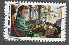 2020 (116c) (S/A) 'COVID 19 - BUS DRIVER' FINE USED