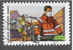 2020 (116c) (S/A) 'COVID 19 - SANITATION WORKER' FINE USED