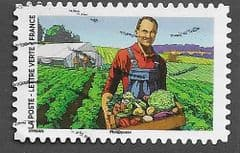 2020 (116c) (S/A) 'COVID 19 - VEGETABLE FARMER' FINE USED