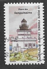 2020 (116c) (S/A) 'LIGHTHOUSES- SANGUINAIRES'  FINE USED