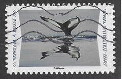 2020 (97c)(S/A) 'ANIMAL REFLECTIONS- HUMPBACK WHALE' FINE USED