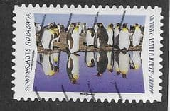 2020 (97c)(S/A) 'ANIMAL REFLECTIONS- KING PENGUINS' FINE USED