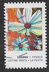 2020 (97c) (S/A) 'COLOURS OF THE COSMOS FLOWER'  (ERROR) FINE USED
