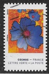 2020 (97c) (S/A) 'COLOURS OF THE COSMOS FLOWER  '  FINE USED