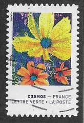 2020 (97c) (S/A) 'COLOURS OF THE COSMOS FLOWER'   FINE USED