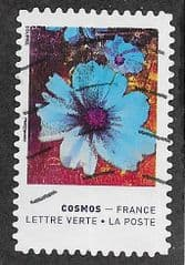 2020 (97c) (S/A) 'COLOURS OF THE COSMOS FLOWER.'  FINE USED