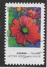 2020 (97c) (S/A) 'COLOURS OF THE COSMOS FLOWER. '  FINE USED