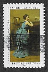 2020 (97c)(S/A) 'CURIOSITY CABINET- WOMAN IN BLUE' FINE USED