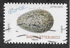 2020 (LETTRE VERTE) (S/A) 'BIRDS EGGS- CARRION CROW' FINE USED