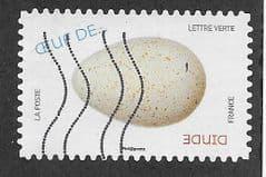 2020 (LETTRE VERTE) (S/A) 'BIRDS EGGS- DOMESTIC TURKEY' FINE USED