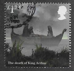 2021 £1.70 'THE DEATH OF KING ARTHUR' FINE USED