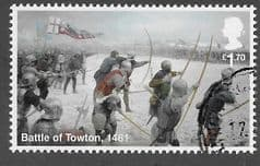 2021 £1.70 'WAR OF THE ROSES - BATTLE OF TOWTON' FINE USED