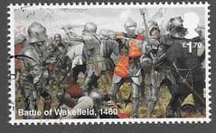 2021 £1.70 'WAR OF THE ROSES - BATTLE OF WAKEFIELD' FINE USED