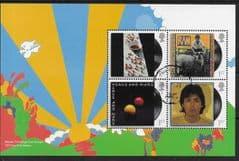 2021 'MC CARTNEY - 1972 TOUR BUS DESIGN' BOOKLET PANE FINE USED