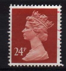 24P 'INDIAN RED'  FINE USED